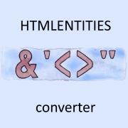 Конвертер HTML кода в символьные сущности